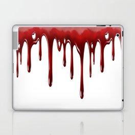 Blood Dripping White Laptop & iPad Skin