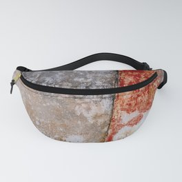 Abstract Painted Urban Wall Fanny Pack