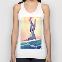 lilo and stitch Tank Tops featuring Stitch by Chiaris