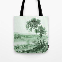 Vintage Lake Champlain  (Green) Tote Bag