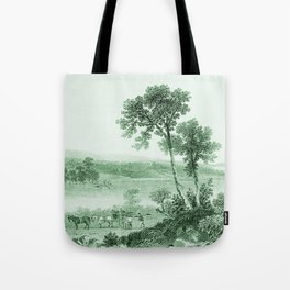 Vintage Lake Champlain  (Green) Tote Bag