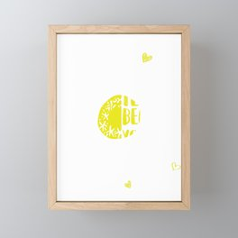 I Became A Teacher Because Your Life Is Worth Framed Mini Art Print