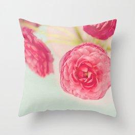 Flowers really do intoxicate me. Vita Sackville-West Throw Pillow