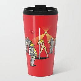 Wrong Pole Metal Travel Mug