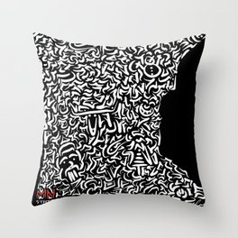 State Secrets - Minnesota Throw Pillow