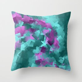 little sqares and rectangles pattern -5- Throw Pillow