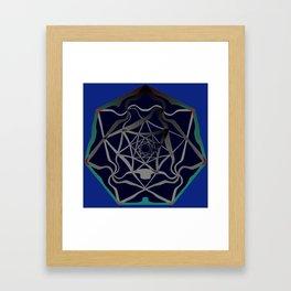 Heptagrammesh, 2290e Framed Art Print