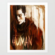 some of us are human Art Print