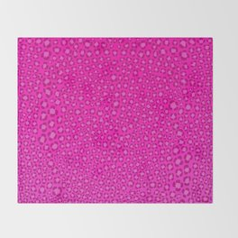 Wild Thing Hot Pink Leopard Print Throw Blanket
