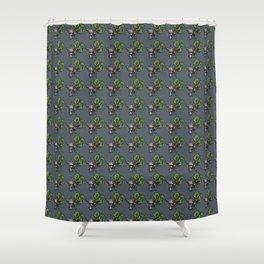 Eldritch Erudites Shower Curtain