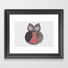 OWL #4 Framed Art Print