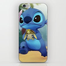 Stitch iPhone & iPod Skin