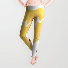 You & Me = The best love story Leggings