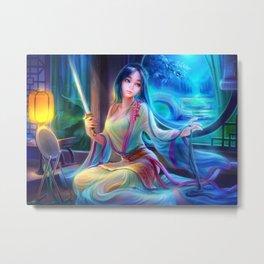 Sleepless Nights-Mulan Metal Print