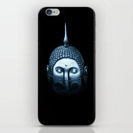 Buddha in black iPhone Skin