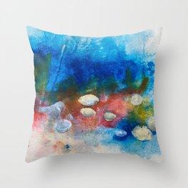 Candy land no.2 Throw Pillow
