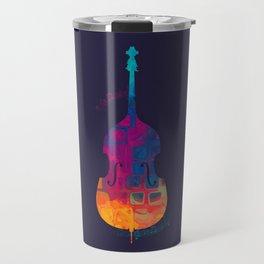 Double Bass Color Travel Mug