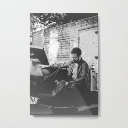 Kevin Buchan - Sax Player Metal Print