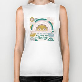 The times, they are a-changin' Biker Tank