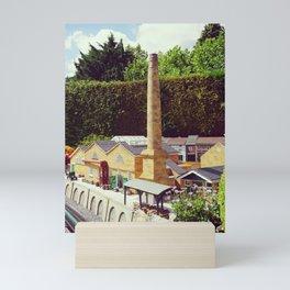 Model Stone Chimney Factory Mini Art Print