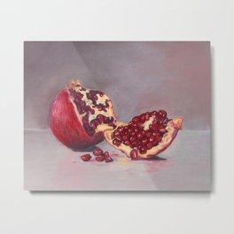 Nature's Rubies Metal Print