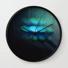 Light Study, Blue Wall Clock