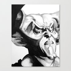 Lord of Darkness Canvas Print