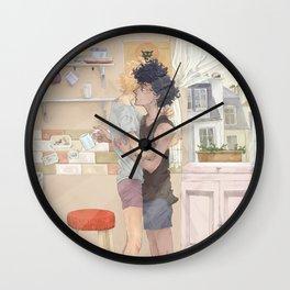Kitchen Morning Wall Clock