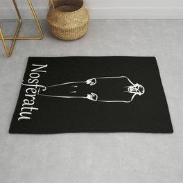 Classic Nosferatu Movie Poster Rug