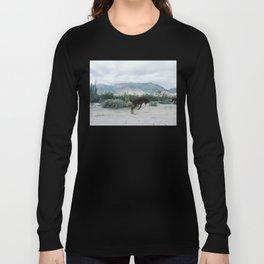 Bucking in Baja Long Sleeve T-shirt