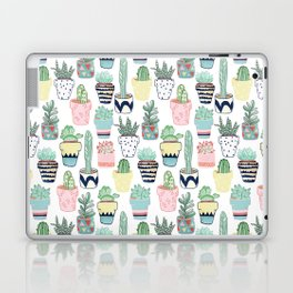 Cute Cacti in Pots Laptop & iPad Skin