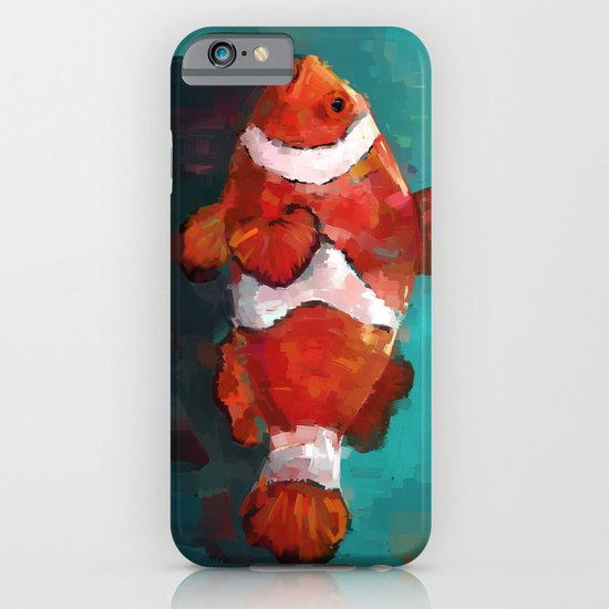 Red Clown iPhone & iPod Case