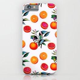 Orange blossom - Grapefruit blossom Grove Art Print Fruit Decor No. 1 iPhone Case