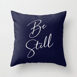 Bs Still Throw Pillow