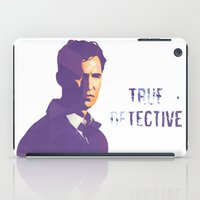 true detective iPad Cases featuring TRUE DETECTIVE by Sunli