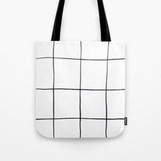 Mod Stripes Tote Bag