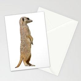 Cute Meerkat Cartoon Stationery Cards