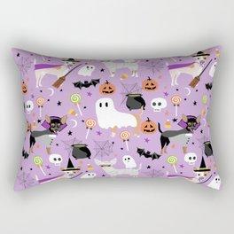 Chihuahua halloween cute spooky seasonal dog pattern chihuahuas Rectangular Pillow