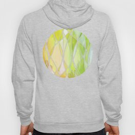 Lemon & Lime Love - abstract painting in yellow & green Hoody