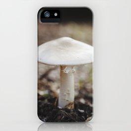Lone Mushroom iPhone Case
