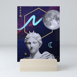 Ancient Gods and Planets: Moon Mini Art Print