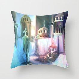 Fairytale Nights Throw Pillow