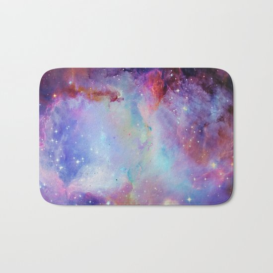 A Galaxy Far Far Away Bath Mat