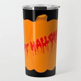 Totaly Evil Halloween Pumpkin Travel Mug