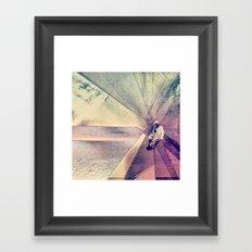 Coral House Framed Art Print