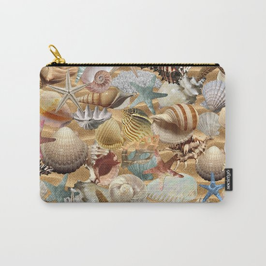Sea Shell Mania Carry-All Pouch