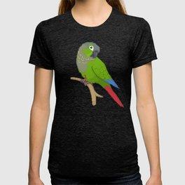 Pixel / 8-bit Parrot: Green-cheek Conure T-shirt