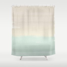 Pastel Abstract Shower Curtain