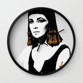 black & gold Cleo Wall Clock