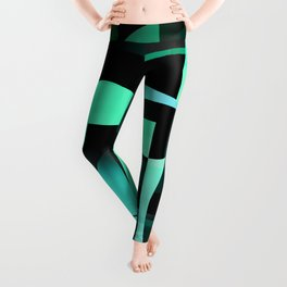 the excess. mint Leggings